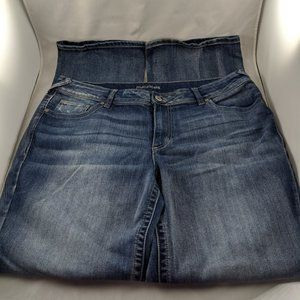 Maurices Faded Bootcut Jeans  18WL